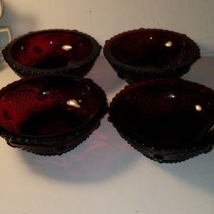 Avon Cape Cod Bowl Set of 4